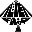 Black Alien Fair Logo by landonrwilson