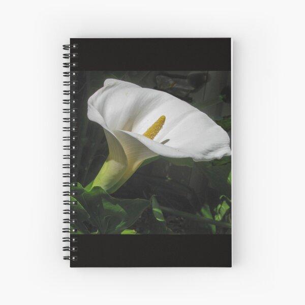 Arum lily Spiral Notebook