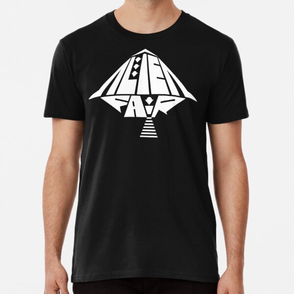 White Alien Fair Logo Premium T-Shirt