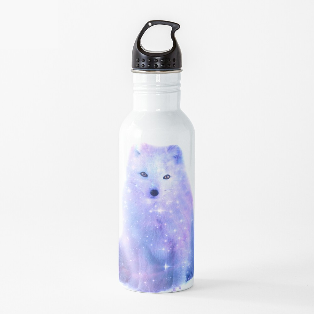 Arctic Iceland Fox Water Bottle