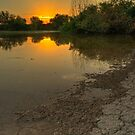 Serenity at Sunrise by Sue  Cullumber