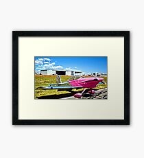 Pink Panther Aircraft Framed Print