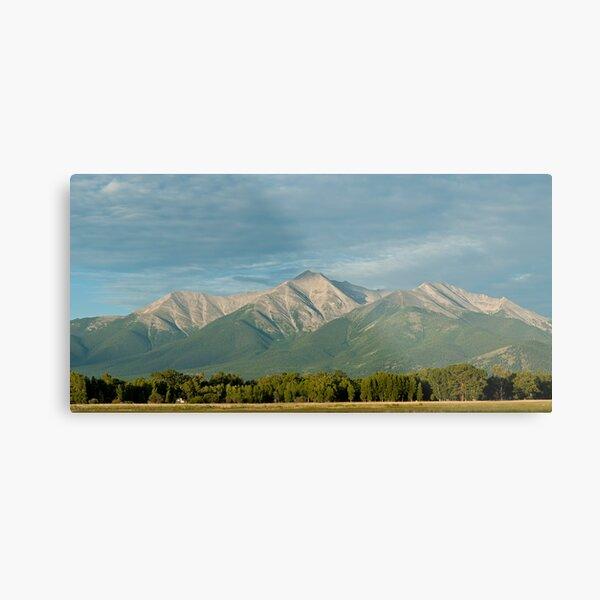 Mount Princeton, Colorado At Sunrise Metal Print