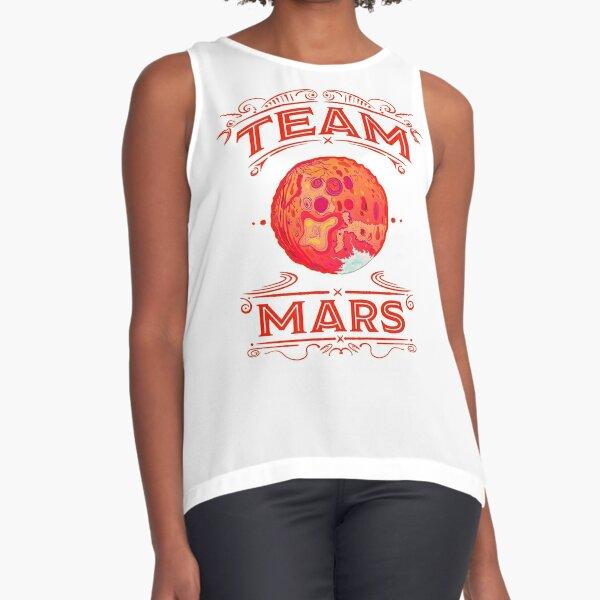 Team Mars Revisited Sleeveless Top