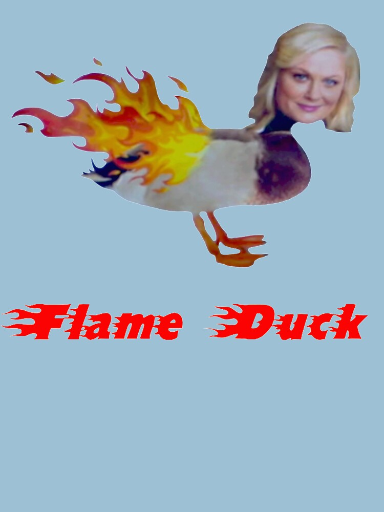 Parks and Recreation Flame Duck | Unisex T-Shirt
