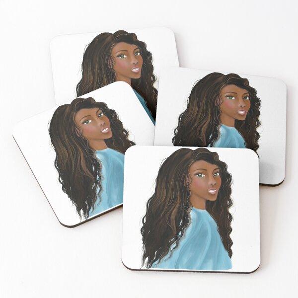 Femme Fatale  Coasters (Set of 4)