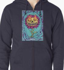 Doom Flower Zipped Hoodie