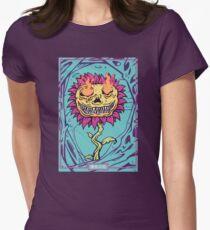 Doom Flower Fitted T-Shirt