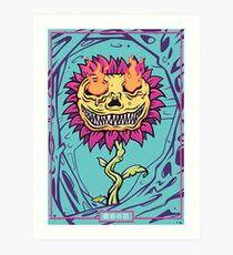 Doom Flower Art Print