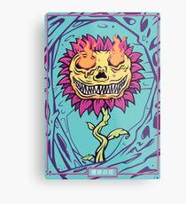 Doom Flower Metal Print