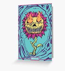 Doom Flower Greeting Card