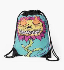 Doom Flower Drawstring Bag