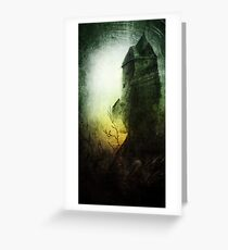 Dreams in the Witch House Greeting Card