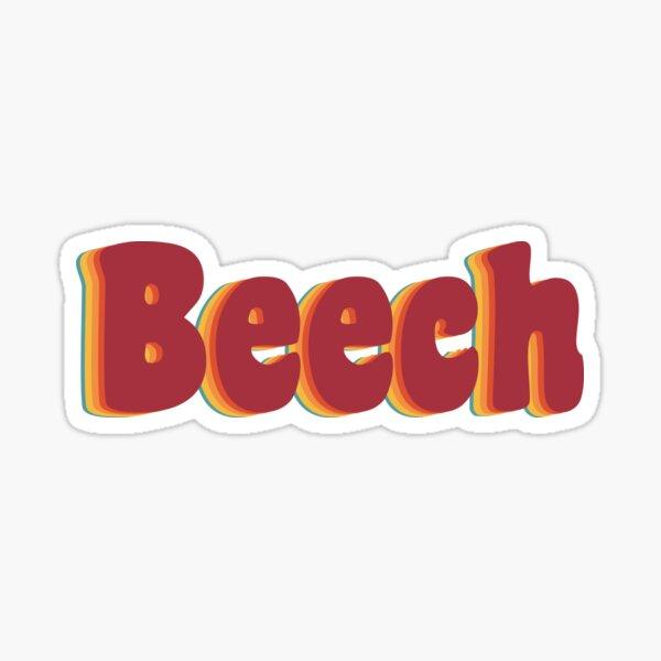 Beech Sticker