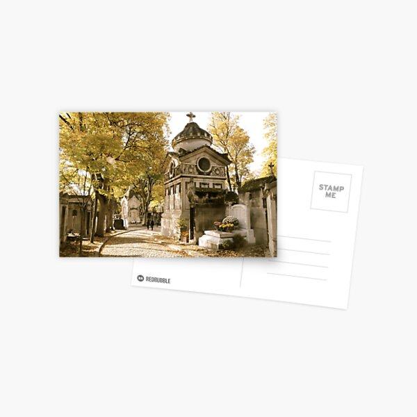 Pere Lachaise Cemetery VI Postcard
