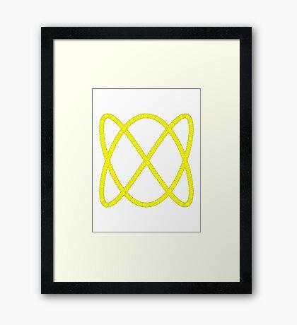 Lissajous III Framed Print