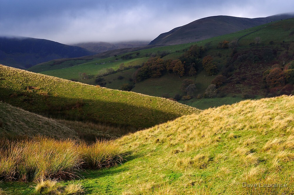 The Howgill Fells - Cumbria by Dave Lawrance