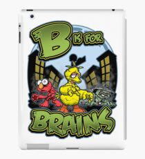 B is for Brains! iPad Case/Skin