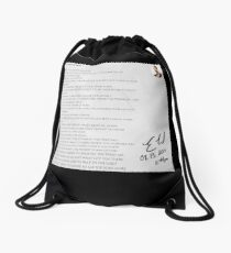 08.13.2019 x 11:44PM Drawstring Bag