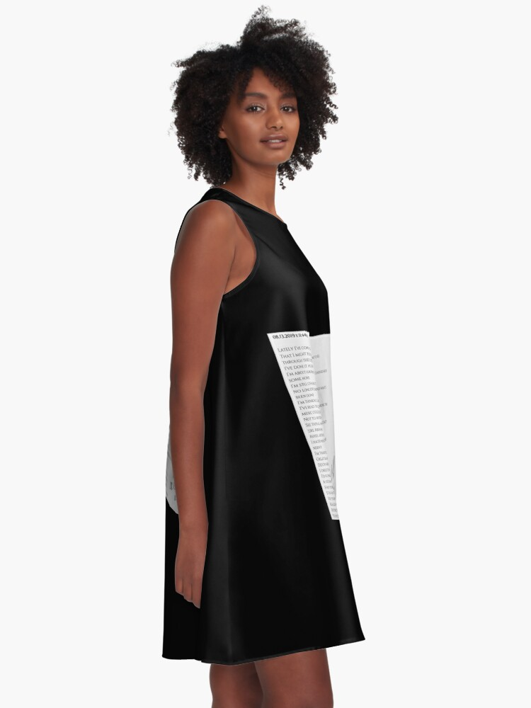 Alternate view of 08.13.2019 x 11:44PM A-Line Dress