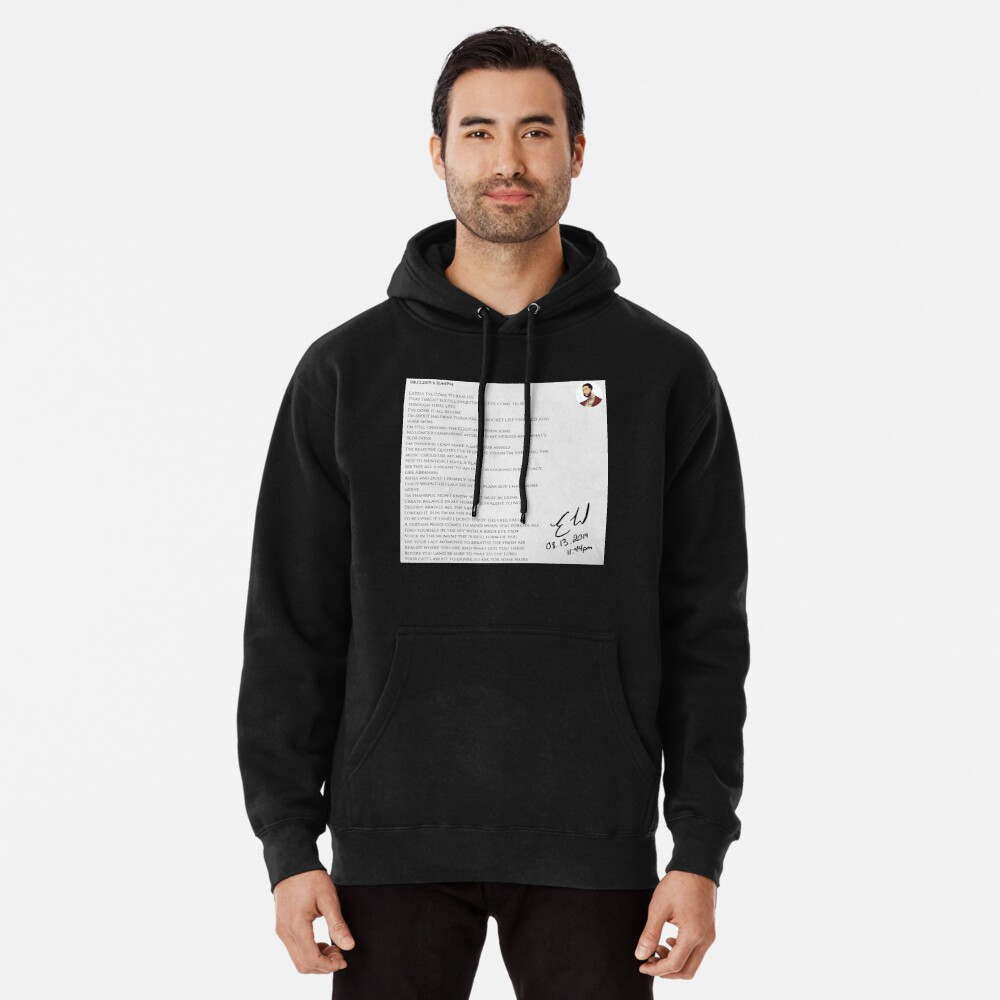 08.13.2019 x 11:44PM Pullover Hoodie
