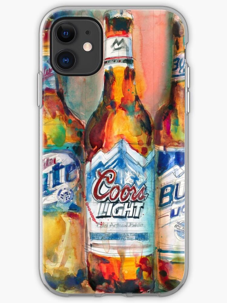 Budweiser Bud Man Light Cave Beer iphone case