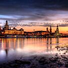 old city sunset by Steffen Gierok