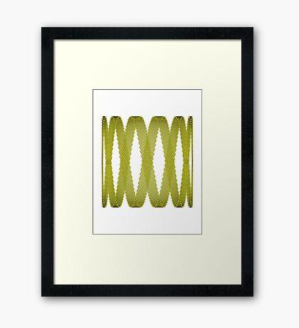Lissajous IV Framed Print