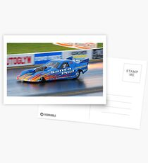 Fireforce Jet Car Postcards
