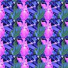 Hibiscus pink  by Virginia McGowan
