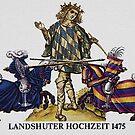 Bavarian Herald ...Landshuter Hochzeit-1475  by edsimoneit