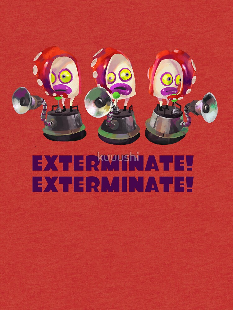 Splatoon! EXTERMINATE, EXTERMINATE! Octobot by kuuushi