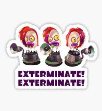 Splatoon! EXTERMINATE, EXTERMINATE! Octobot Sticker