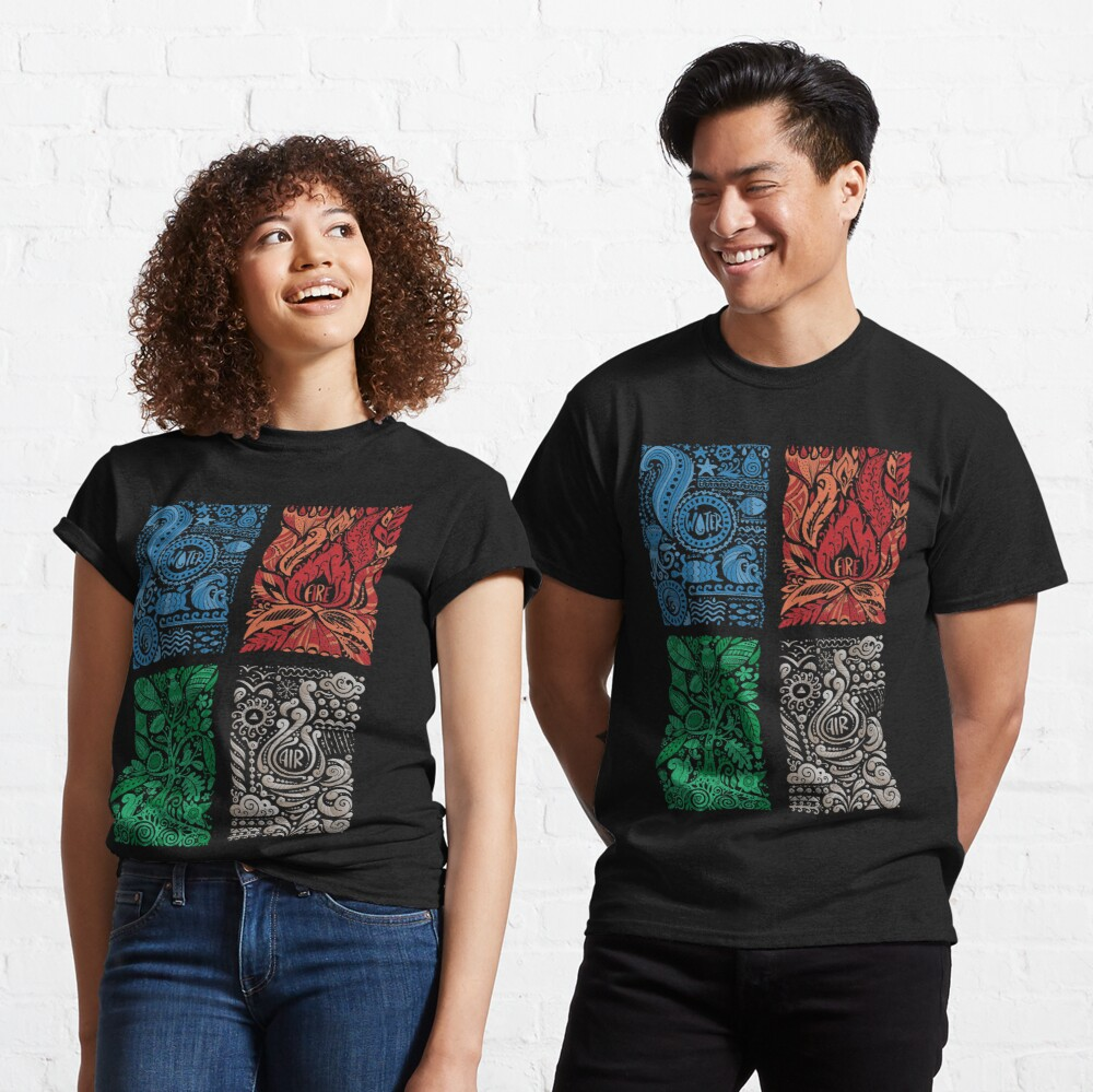 Four Elements of Nature Classic T-Shirt