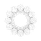 Spirographic 1 by Allison Chen