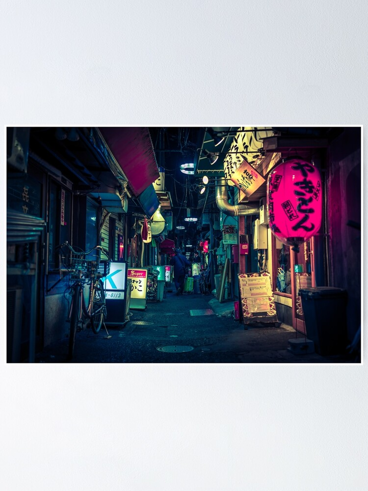 Alternate view of Tokyo depth Poster