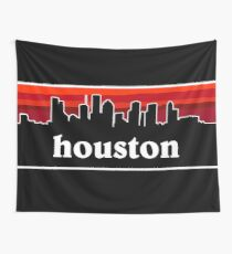 Houston Cityscape Tapestry