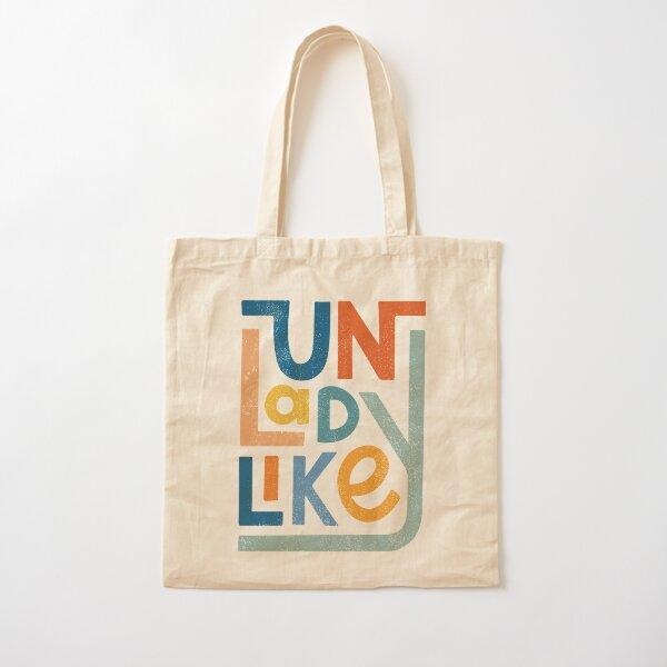 UNLADYLIKE Cotton Tote Bag