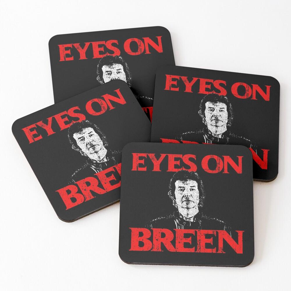 Eyes On Breen Coasters (Set of 4)