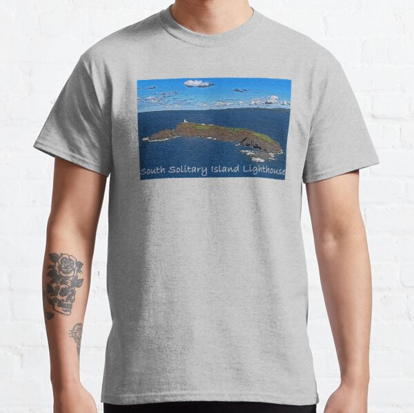South Solitary Island Lighthouse 2 Classic T-Shirt