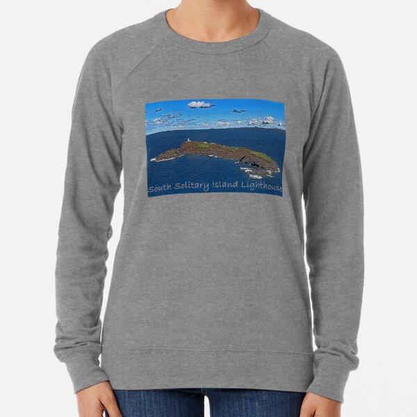 South Solitary Island Lighthouse 2 Lightweight Sweatshirt