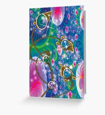 Under Water Royal Plant Greeting Card