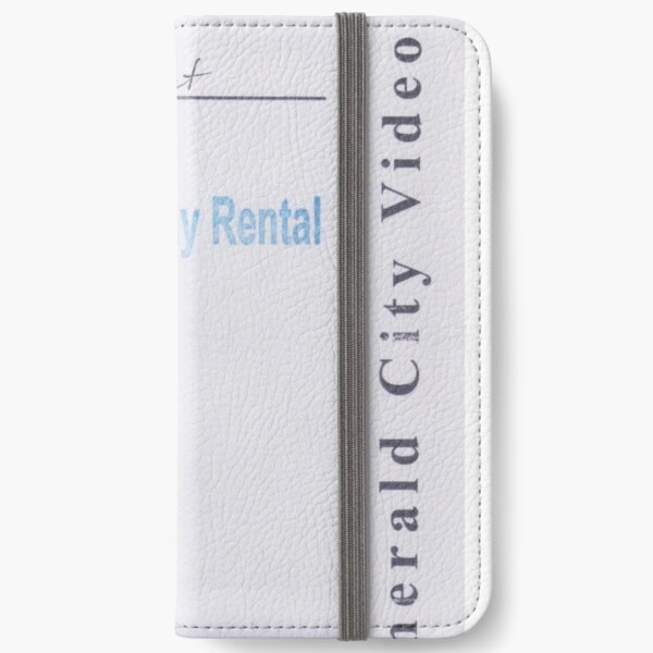 Emerald City Video 5-Day Rental: ZERO EFFECT iPhone Wallet