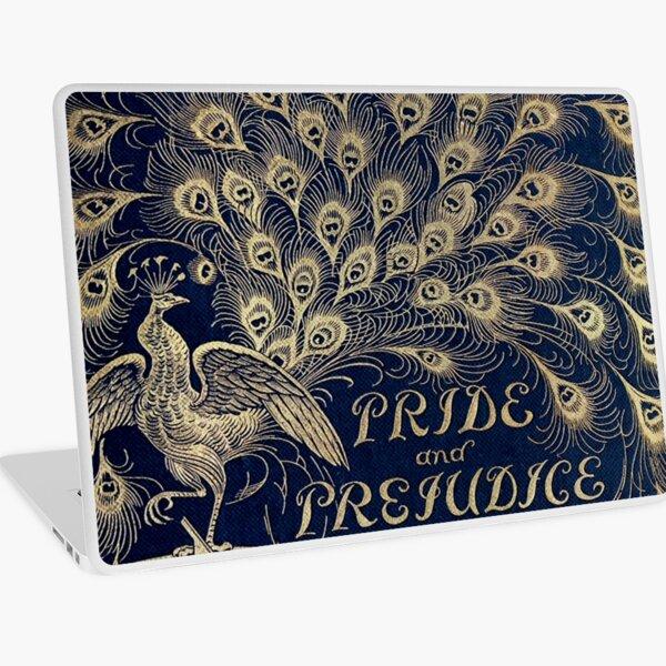 Pride and Prejudice Peacock Cover Laptop Skin