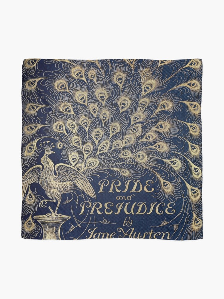 Alternate view of Pride and Prejudice Peacock Cover Scarf