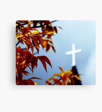 Religion Out of Focus Canvas Print