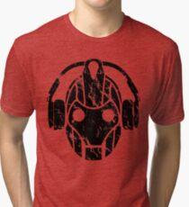 Cyberman Rocks Tri-blend T-Shirt