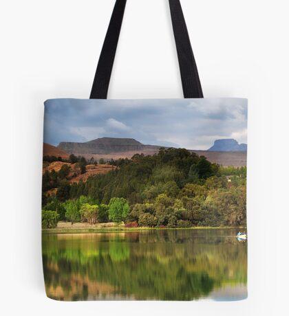 Naverone Lake, Drakensberg, South Africa Tote Bag