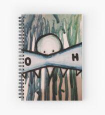Oscars crayons  Spiral Notebook