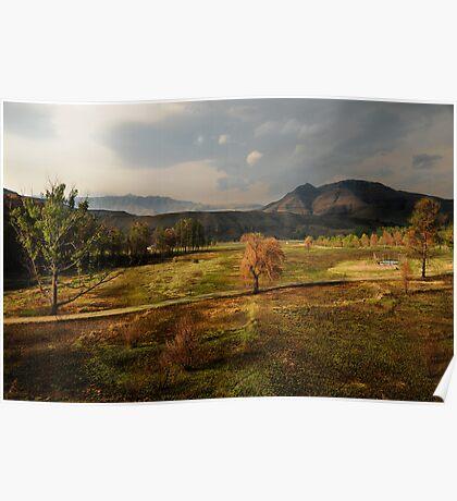 Lake Naverone, South Africa Poster